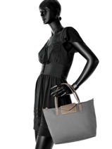 Shopping Bag Kba Cloute Lancaster Gray kba cloute 00516-21-vue-porte