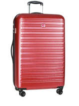 Hardside Luggage Segur Delsey Red segur 2038821