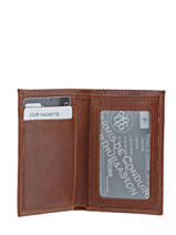 Card Holder Leather Arthur et aston Brown jasper 1589-100-vue-porte