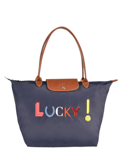 Longchamp Messenger bag Blue