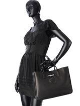 Longchamp Roseau héritage Handbag Red-vue-porte