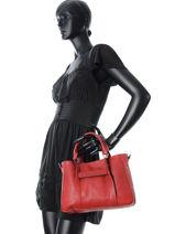 Longchamp Longchamp 3d Sac porté main Rouge-vue-porte