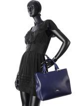 Longchamp Honoré 404 Handbag Pink-vue-porte
