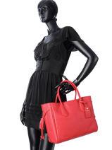 Longchamp Pénélope Handbag Blue-vue-porte