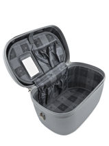 Beauty Case Snowball Silver robust lite 31935-vue-porte