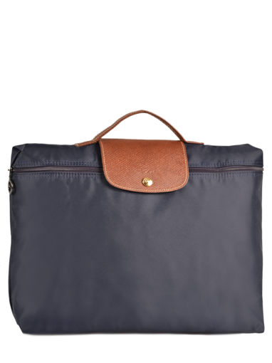 Longchamp Le pliage Briefcase Blue
