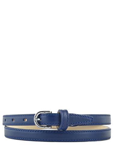 Longchamp Honoré 404 Ceinture Bleu