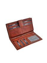 Continental Wallet Leather Spirit Brown medium 6992-vue-porte