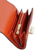 Porte Cartes Cuir Michael kors Orange sullivan H6GUPD2L-vue-porte