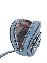 Porte-monnaie Cuir Michael kors Bleu flower H6SFAP1L-vue-porte