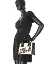 Cabas Holidays Karl lagerfeld Noir holidays 70KW3006-vue-porte