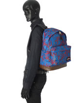 Backpack 1 Compartment Eastpak Blue pbg authentic PBGK811-vue-porte