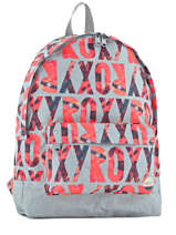 Backpack 1 Compartment Roxy Gray backpack RJBP3406