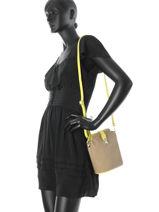 Mini-bag  Leather Milano Beige 122-vue-porte