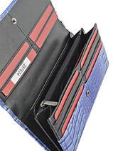 Continental Wallet Hexagona Blue eclat 287624-vue-porte
