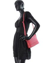 Shoulder Bag Fleur Miniprix Red fleur 79052-vue-porte