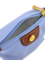 Longchamp Porte-monnaie Rouge-vue-porte