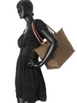 Longchamp Hobo bag Green-vue-porte