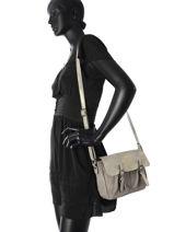 Shoulder Bag Alice Miniprix Gray alice MD123-vue-porte