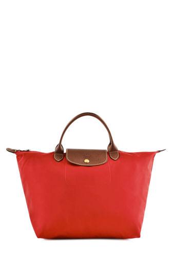 Longchamp Le pliage Sac porté main Rouge