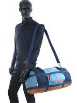 Travel Bag Luggage Quiksilver Blue luggage QYBL3098-vue-porte