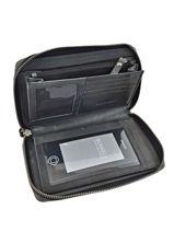 Continental Wallet Leather Burkely Black noble nova 870865-vue-porte