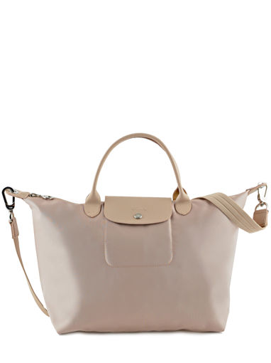 Longchamp Le pliage neo Handbag Beige