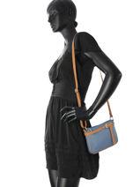 Crossbody Bag  Leather Milano Blue G1421-vue-porte