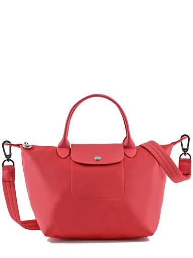 Longchamp Le pliage neo Handbag Red