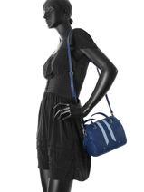 Crossbody Bag Nat et nin Blue vintage NAPOLI-vue-porte