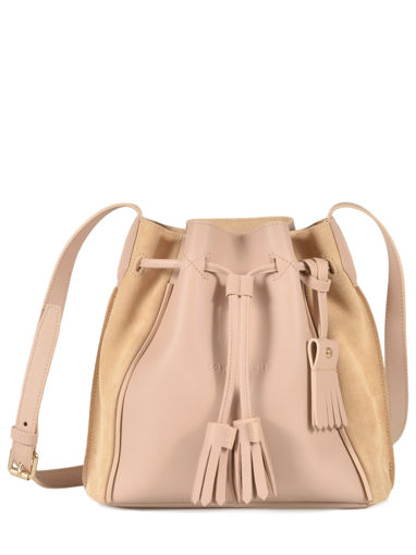 Longchamp Sac porté travers Beige
