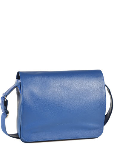 Longchamp Le foulonné Briefcase Blue