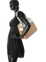 Shopper Martine Guess Beige martine VG649023-vue-porte