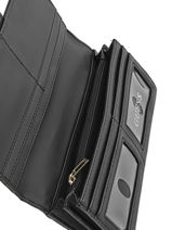 Continental Wallet Guess Black martine VG649059-vue-porte