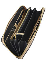 Wallet Leather Etrier Beige tradition EHER901-vue-porte