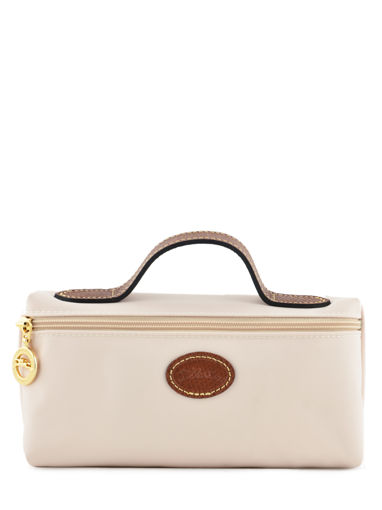 Longchamp Le pliage Clutch Beige