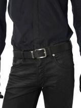 Belt Tommy hilfiger Black belt AM01936-vue-porte