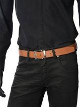 Belt Tommy hilfiger Brown belt AM02217-vue-porte