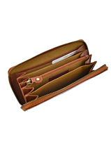 Wallet Leather Burkely Brown wieske 840522-vue-porte