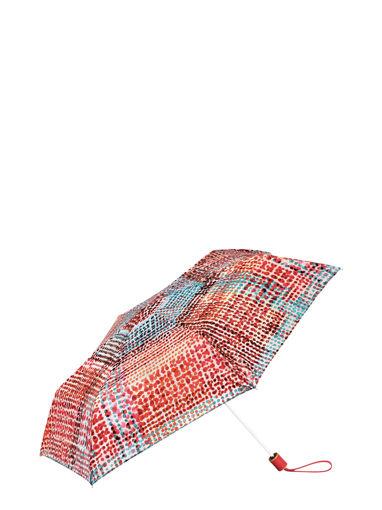 Longchamp Le Pliage Losange Umbrella Red