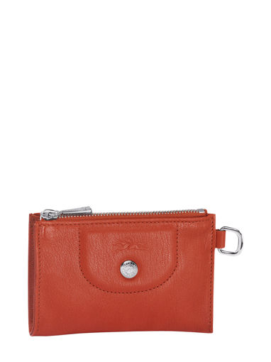 Longchamp Le pliage cuir Key rings Red