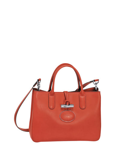 Longchamp Roseau héritage Sac porté main Rouge