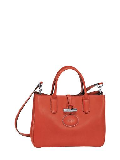 Longchamp Roseau héritage Handbag Red
