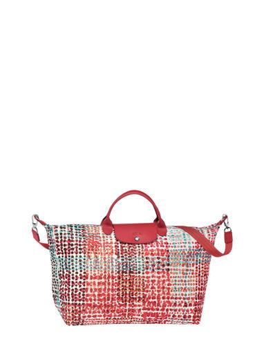 Longchamp Travel bag Red
