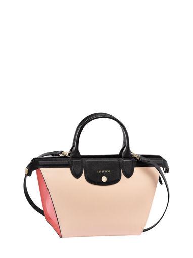 Longchamp Le Pliage Héritage Tricolore Handbag Pink