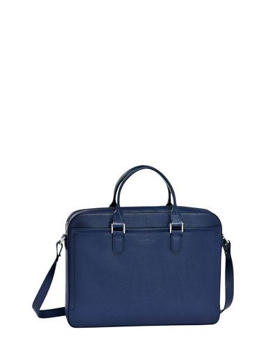 Longchamp RACING + Serviette Bleu