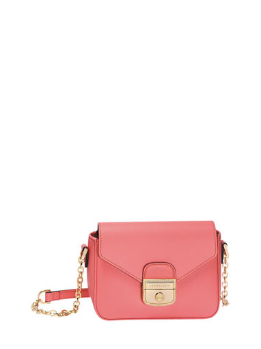 Longchamp Sac porté travers Rose
