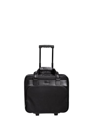 Longchamp Suitcase with wheels Black
