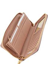 Continental Wallet Leather Michael kors Pink mercer F6GM9E9L-vue-porte