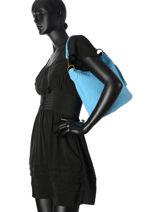 Sac Seau Velvet Stampa Cuir Milano Bleu velvet stampa V2151101-vue-porte